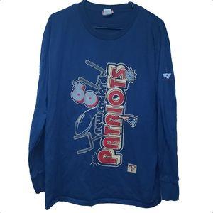 Vintage New England Patriots Long Sleeve T-Shirt